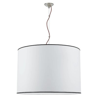 Tom Tom  1-Light Drum Pendant Size: 22.5