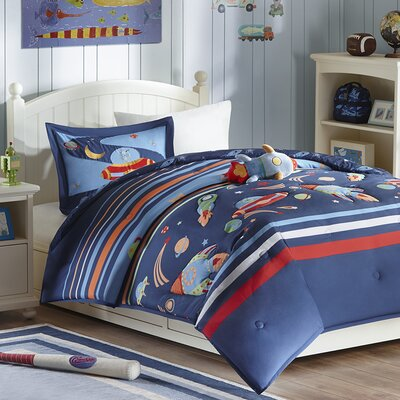 Space Cadet Comforter Set Size: Full/Queen