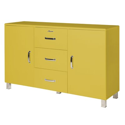 Miami Sideboard Color: Yellow