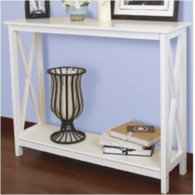 Country Decorative Console Table