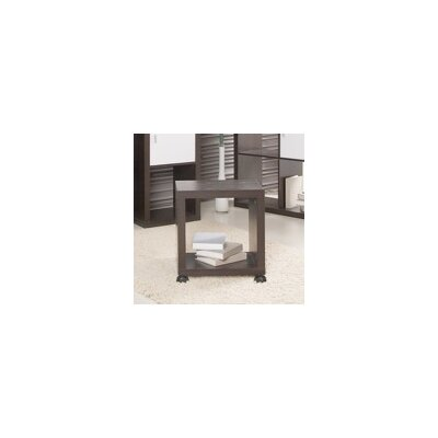 Caro End Table Finish: Dark Brown