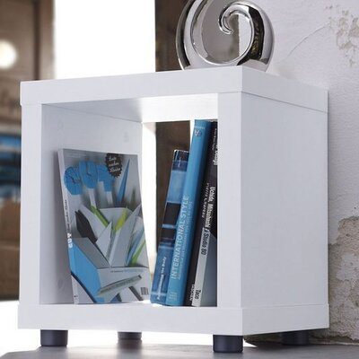 Caro End Table Color: White