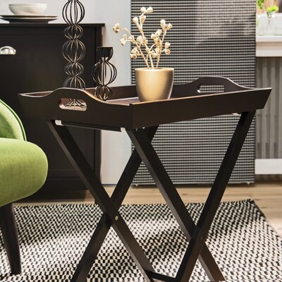 Country End Table Color: Black Coffee
