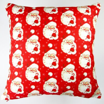 Christmas Hi Santa Throw Pillow