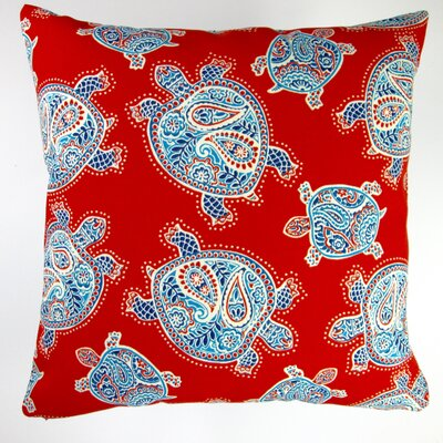 Kids Sea Turtle Indoor/Outdoor Throw Pillow
