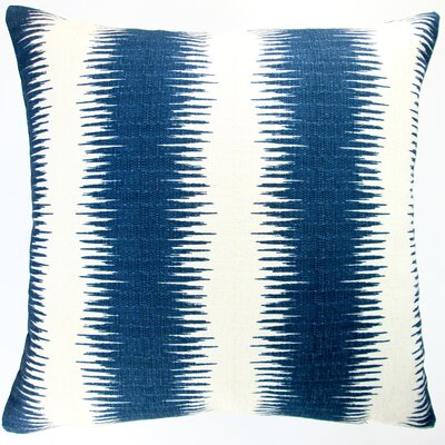Modernist Geometric Stripe Indoor Cotton Throw Pillow
