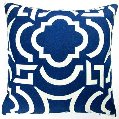 Geometric Coastal Beach House Modern Indoor/Outdoor Throw Pillow