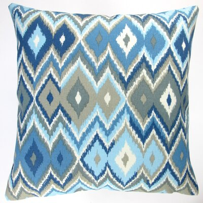Lake Geometric Beach House Modern Contemporary Indoor/Outdoor Throw Pillow