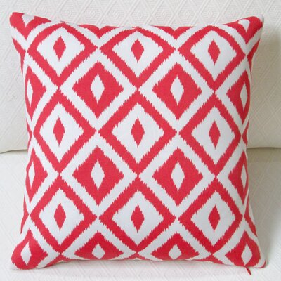 Coastal Geometric Modern Indoor/Outdoor Throw Pillow