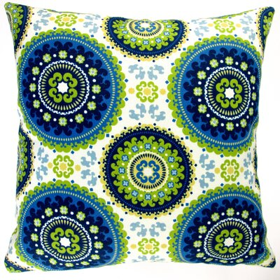 Geometric Circle Modern Contemporary Indoor/Outdoor Throw Pillow