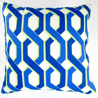 Geometric Modern Indoor/Outdoor Throw Pillow