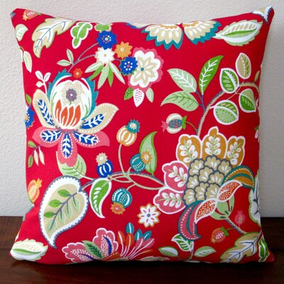Floral in Modernative Outdoor Throw Pillow