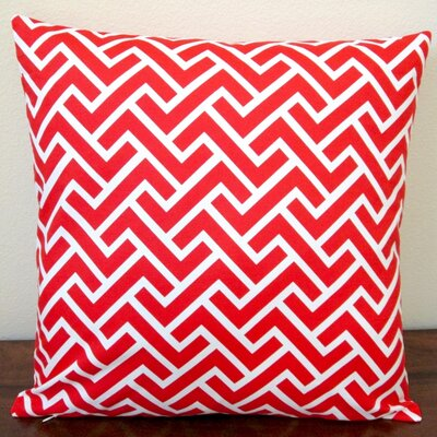 ZigZag Coral Indoor Pillow Cover
