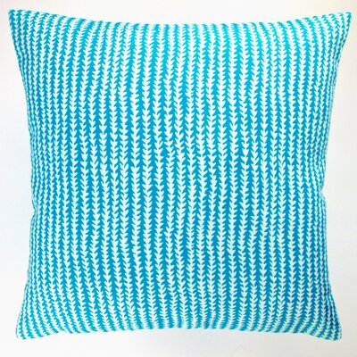 Arrow Stripe Modern Caribbean Beach Indoor/Outdoor Pillow Cover