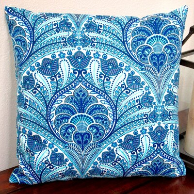 Tommy Bahama Fabric Beach Riptide Modern Geometric Coastal Indoor/Outdoor Throw Pillow