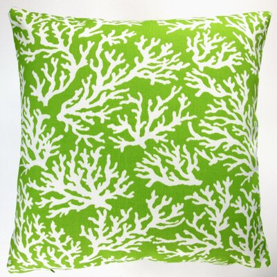 Reef Coastal Living Beach House Indoor/Outdoor Throw Pillow