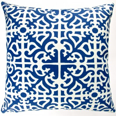Classic Garden Maze Modern Geometric Indoor/Outdoor Throw Pillow