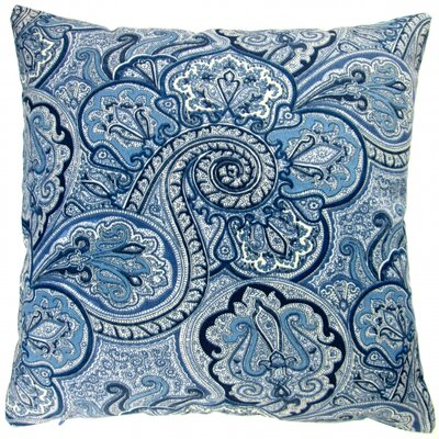 Paisley Geometric Coastal Beach House Modern Contemporary Indoor/Outdoor Throw Pillow