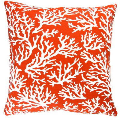 Coral Reef Beach House Indoor/Outdoor Pillow Cover