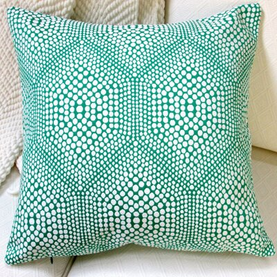 High End Bubbly Modern Geometric Throw Pillow