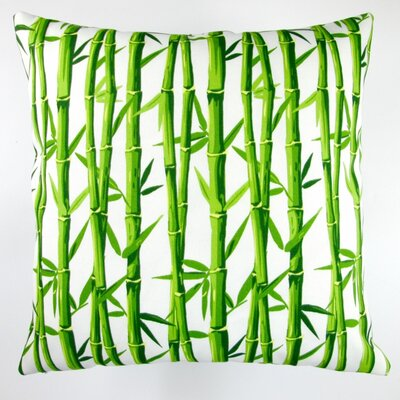 Bamboo Oriental Outdoor Pillow Cover