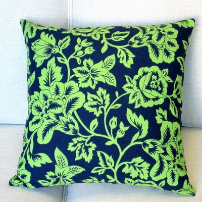 Flower Show Indoor/Outdoor Throw Pillow