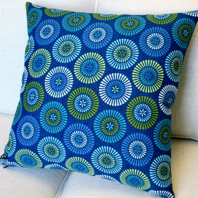 Geometric Circles Indoor/Outdoor Pillow Cover