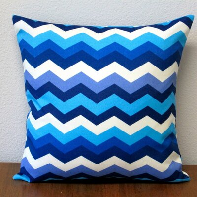 Panama Wave Zig Zag Outdoor Pillow Cover