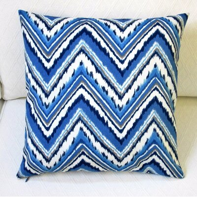 Chevron Zig Zag Outdoor Throw Pillow Cover