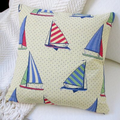 Stroup Balboa Sail Boat Pillow Cover