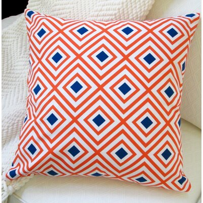 Diamond Pattern Cotton Pillow Cover