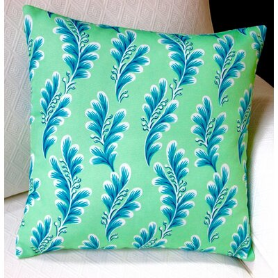 Tropical Island Seagrove Caribbean Indoor/Outdoor Throw Pillow