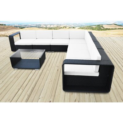 Cristallo Rattan Sectional Set Cushions - Product photo