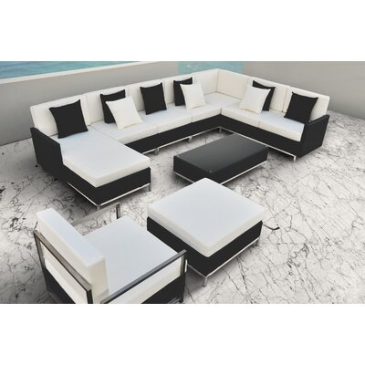 Finis 8 Piece Deep Seating Group