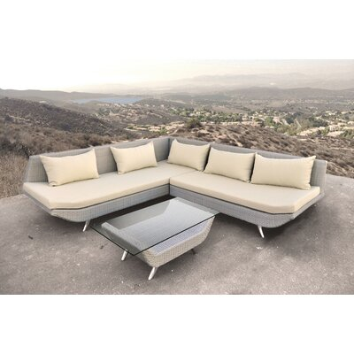 Adonis 3 Piece Deep Seating Group
