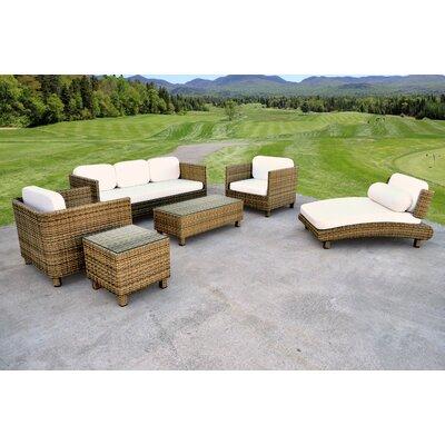 Pretty Sinatra Rattan Sofa Set Cushions Product Photo
