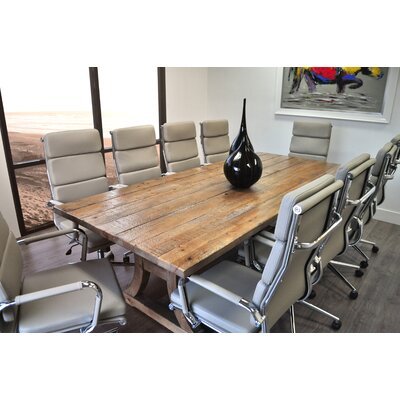 Ligna Rectangular L Conference Table Set Product Photo 8041