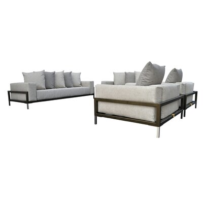 Tilly 4 Piece Deep Seating Group with Cushion