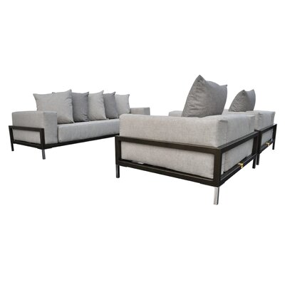 Tilly 3 Piece Deep Seating Group with Cushion