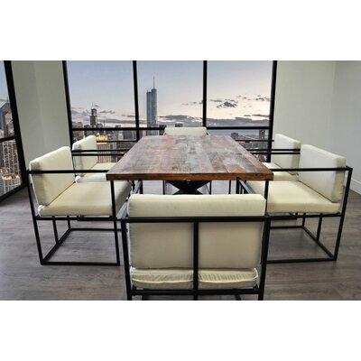 Scena Indoor Outdoor Deep Seated 7 Piece Dining Set