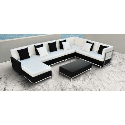 Finis 6 Piece Deep Seating Group with Cushion