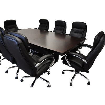 Lux Boat shaped 30.25H x 44W x 90L Conference Table