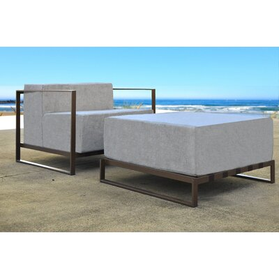 Chae 7 Piece Sectional Set with Cushion Frame Finish: Bronze