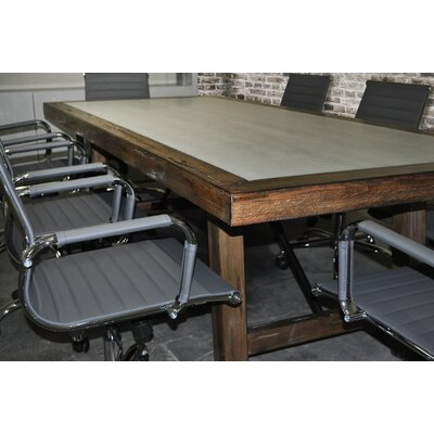 Surbhi Rectangular 30H x 42W x 92L Conference Table Set