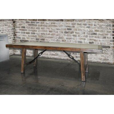 Lasley 6.5' Concrete Rectangular Conference Table 6B9152395199462C8A7CF9332B84BB05