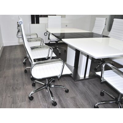 Boat Shaped L Conference Table Set Product Picture 122