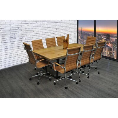 Contemporary Rectangular Conference Table Set Product Photo 1551