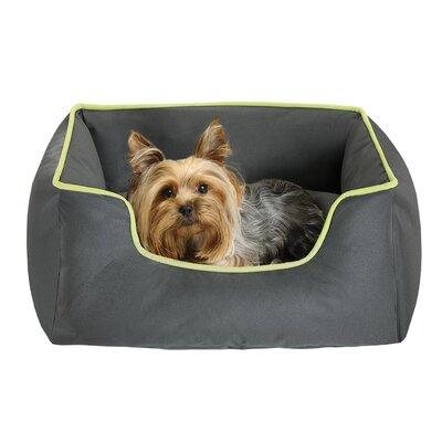 Jack Box Bed Rectangular Cuddler Bolster Dog Bed Size: 25 L x 21 W