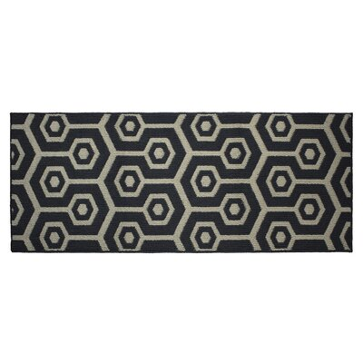 Honeycomb Area Rug Rug Size: Runner 2 x 5