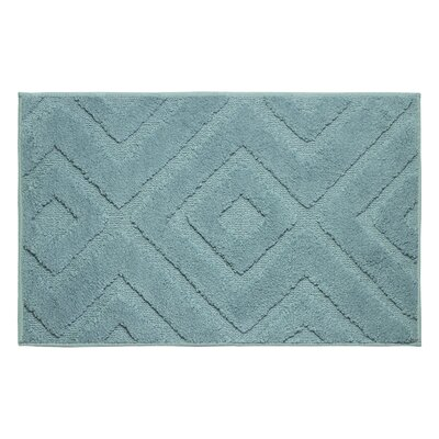Plush Bath Mat Size: 34 x 21